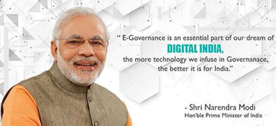 E-governance Digital India
